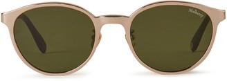 Mulberry Sam Sunglasses Shiny Peach Titanium