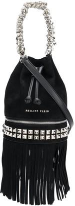 Philipp Plein Fringed Bucket Bag