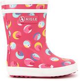 Aigle Birdy rain boots - Baby Flac Glittery