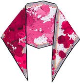 Haider Ackermann paint splash scarf - women - Silk - One Size