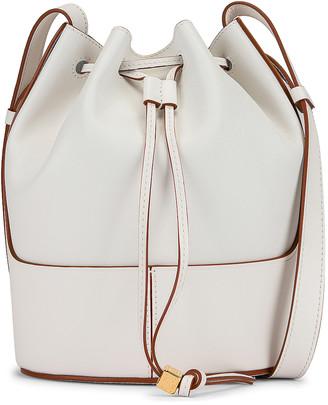 Loewe Balloon Small Bag in Soft White | FWRD