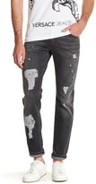 Versace Distressed Jean