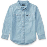 Ralph Lauren 2-7 Cotton Chambray Workshirt