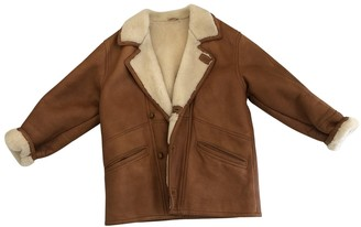 Shearling Camel Leather Jackets