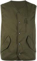 Aspesi flap pocket gilet - men - Cotton/Polyamide - L