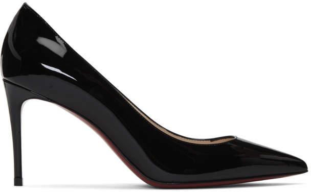 new arrival 4d87b 6093c Black Patent Kate 85 Heels