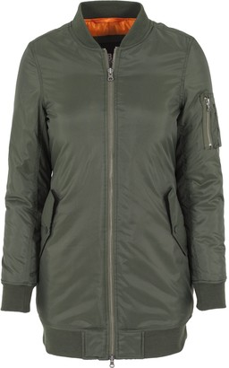 Urban Classics Women's Jacke Long Bomber Jacket