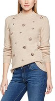 Dorothy Perkins Women's Heart Christmas Pudding Jumpers,6
