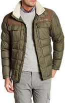 Free Country Fleece Lined Down-Filled Quilted Jacket