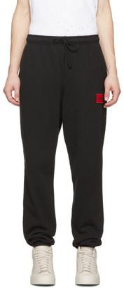 424 Black Logo Lounge Pants