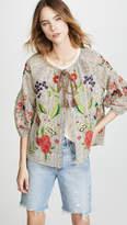 Velvet Delfina Embroidered Jacket