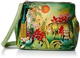Anuschka Triple Compartment Convertible Tote Rousseau's Jungle