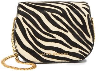 Marc Jacobs Avenue Genuine Calf Hair Leather Crossbody Bag