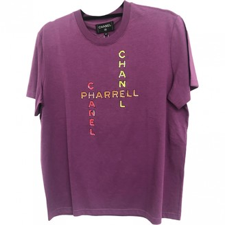 Chanel X Pharrell Williams Purple Cotton T-shirts