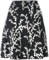 Giambattista Valli printed skirt - women - Viscose/Cotton/Polyamide/Silk - 44