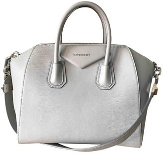 Givenchy Antigona Grey Leather Handbags