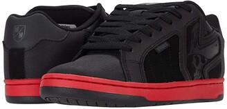 Etnies Metal Mulisha Fader 2 (Black/Red/Black) Men's Skate Shoes