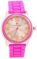 Adrienne Vittadini Women's 39mm Rubber Band Quartz Watch Ads9857rg228-375