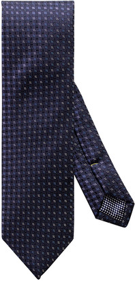 Eton Men's Small-Box Silk Tie