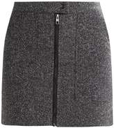 Only ONLFIRE MELANGE ELIN SKIRT Mini skirt dark grey melange