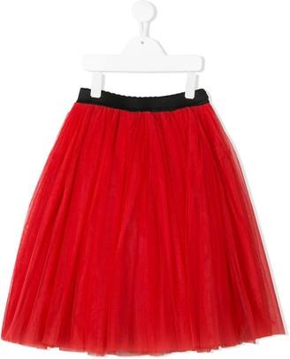 Dolce & Gabbana Kids Multi-Layered Tulle Skirt