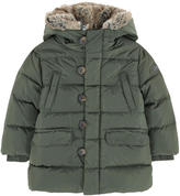 Il Gufo Down and feather coat