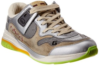 Gucci Ultrapace Leather & Mesh Sneaker