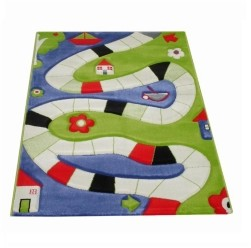 IVI Playway Blue Soft Nursery Rug Playmat