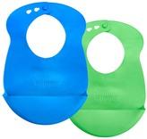 Tommee Tippee Green & Blue Easi-Roll Bib Set