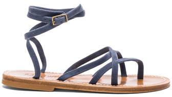 K. Jacques Suede Zenobie Sandals
