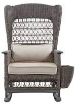 Paula Deen Home Dogwood Rocking Chair with Cushions Home Fabric: Cast Ash