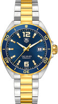 Tag Heuer WAZ1120BB0879 formula 1 gold and stainles steel watch
