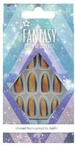 Superdrug Fantasy Queen Of Darkness False Nails - Blue