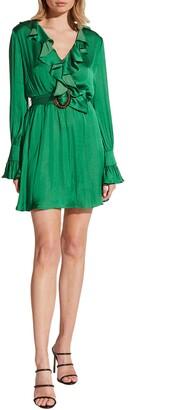 Bardot Alanna Long Sleeve Minidress