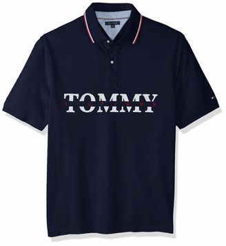 Tommy Hilfiger Men's Size Big and Tall Polo Shirt Custom Fit