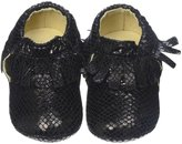 Old Soles Fringe Bootie (Inf/Tod) - Champagne-22 (15-18 months)