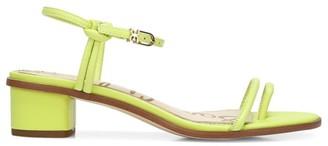 Sam Edelman Isle Neon Leather Toe-Loop Sandals