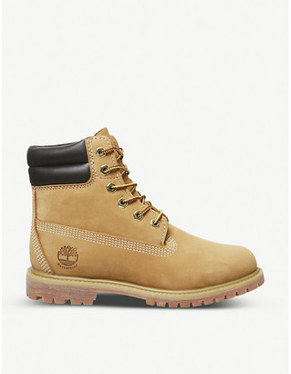 "Timberland Waterville 6"" leather boots"