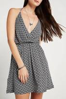 BCBGeneration Surplice Halter Dress