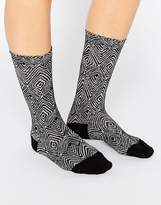 Falke Okapi Black Sock