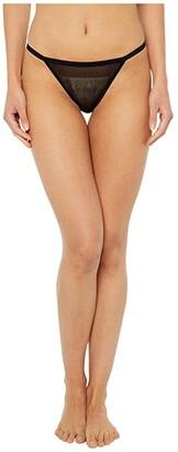 Cosabella Soire Confidence String Bikini (Black) Women's Underwear