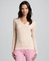 Theory Linova Merino V-Neck Sweater
