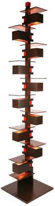 AlaModerna Frank Lloyd Wright Taliesin 2 Midcentury Floor Lamp, Walnut
