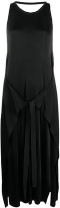MM6 MAISON MARGIELA Tie-Detail Stretch-Fit Dress