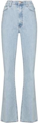 J Brand Runway 1219 high-rise flared jeans