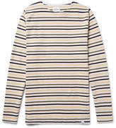 Norse Projects Godtfred Slim-Fit Striped Cotton T-Shirt