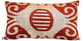 Orientalist Home Stella 16x24 Silk Velvet Pillow, Red