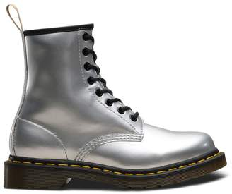 Dr. Martens 1460 Vegan Ankle Boots in Metallic Finish