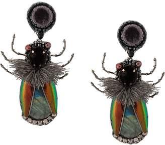 Ranjana Khan insect embellished earrings