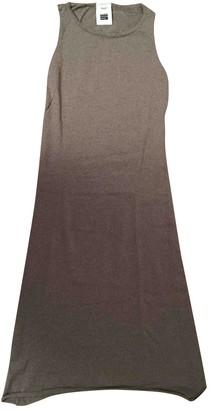 Non Signã© / Unsigned Ecru Wool Dresses